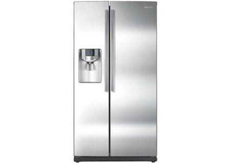 Samsung - RS263TDRS - Side-by-Side Refrigerators