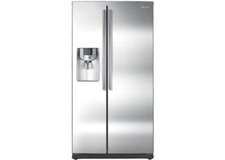 Samsung - RS265TDRS - Side-by-Side Refrigerators