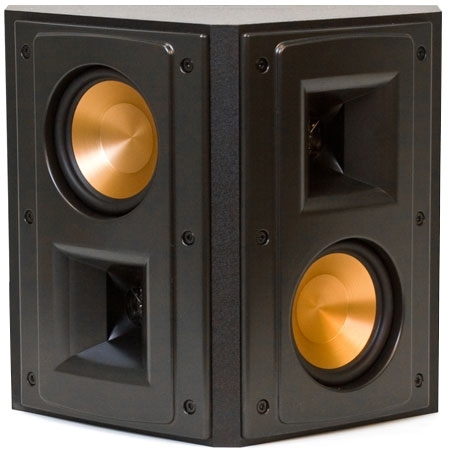 klipsch reference black surround speaker rs 42 ii. Black Bedroom Furniture Sets. Home Design Ideas