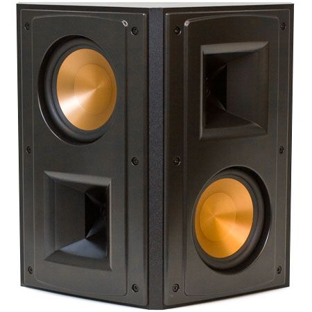 klipsch reference series black surround speaker rs 52 ii. Black Bedroom Furniture Sets. Home Design Ideas