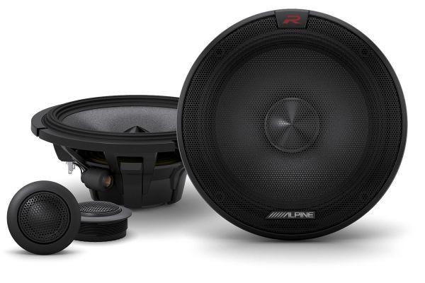 "Large image of Alpine R-Series 6.5"" Component 2-Way Speakers (Pair) - R-S65C.2"