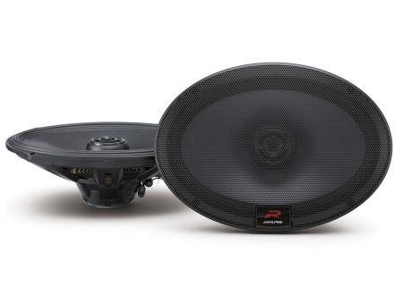 "Alpine R-Series 6x9"" Coaxial 2-Way Speakers - R-S69"