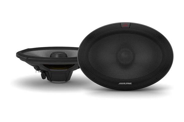 """Alpine R-Series 6"""" x 9"""" Coaxial 2-Way Speakers (Pair) - R-S69.2"""
