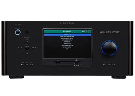 Rotel 7.1 Ch Black Home Theater Surround Processor Preamplifier  - FR51227