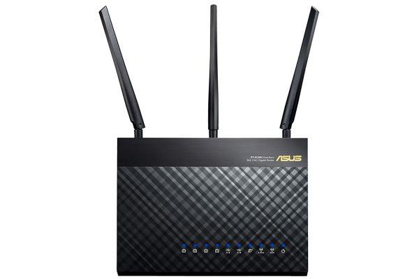 Large image of ASUS Black Dual-Band Wireless Gigabit Router - RTAC68U