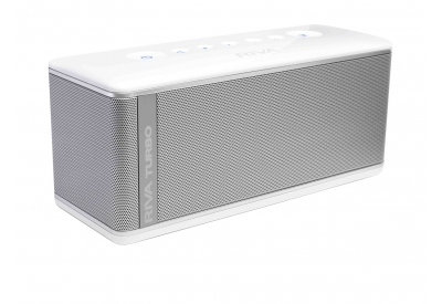 RIVA Turbo X Silver Portable Bluetooh Mobile Speaker - RTX01S