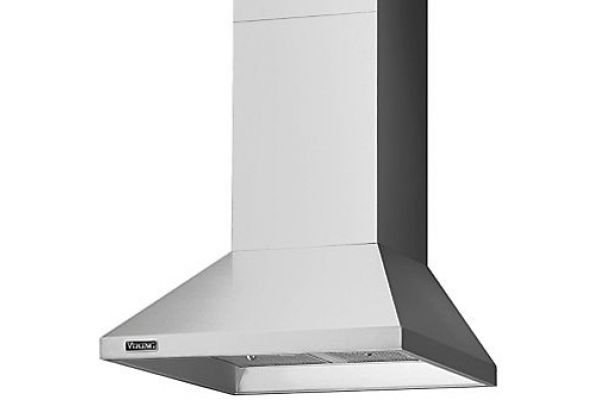 """Large image of Viking 30"""" 460 CFM Stainless Steel Chimney Wall Hood - RVCH330SS"""