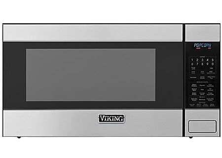 Viking 2.0 Cu Ft Stainless Steel Countertop or Built-In Microwave Oven - RVM320SS