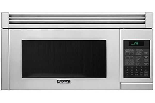 "Large image of Viking 30"" Convection Stainless Steel Over-The-Range Microwave Hood - RVMHC330SS"