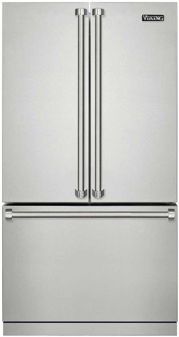 Viking 3 Series 36 French Door Bottom Freezer Refrigerator Rvrf3361ss