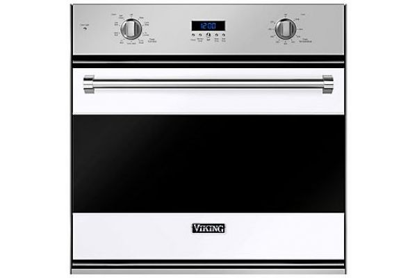 """Large image of Viking 30"""" White Electric Single Wall Oven - RVSOE330WH"""