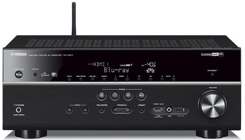 Yamaha 7 2 channel wi fi network av receiver rx v677bl for Yamaha rx v377 manual