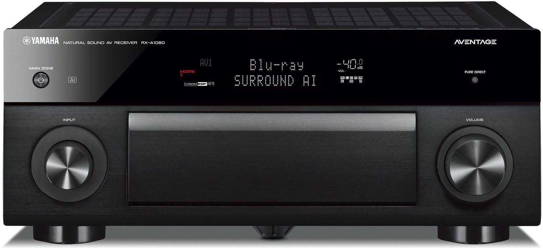 Yamaha AVENTAGE 7 2 Channel Black 4K Network AV Receiver