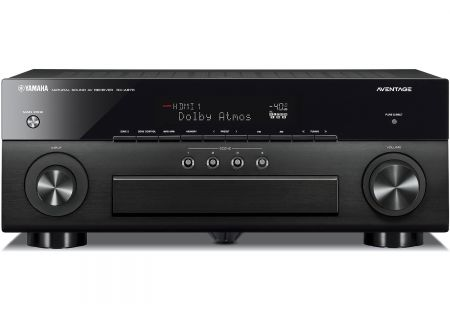 Yamaha AVENTAGE 7.2 Channel Black 4K Network AV Receiver - RX-A870