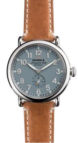 shinola the runwell blue womens s0100024