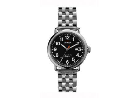 Shinola The Runwell 41MM Stainless Steel Unisex Watch  - S0100053