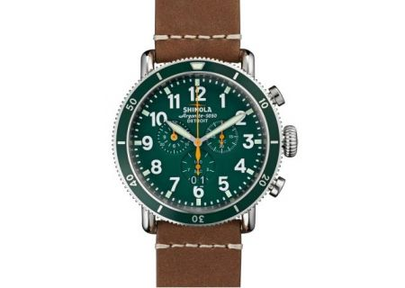 Shinola The Runwell Sport Chrono Stainless Steel 48mm Mens Watch  - S0100091