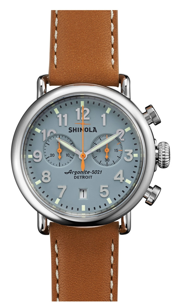 Shinola the runwell chrono 41mm unisex watch s0110000097 for Shinola watches