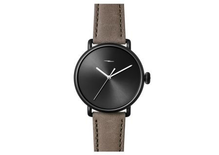 Shinola The Canfield Bolt 43mm Black Dial Mens Watch - S0120052578