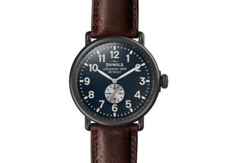 Shinola The Runwell 47mm Gunmetal Mens Watch - S0120065287