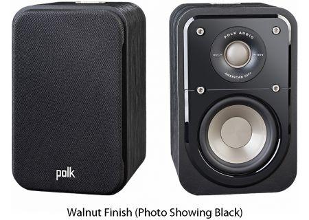 Polk Audio - S10WAL - Bookshelf Speakers
