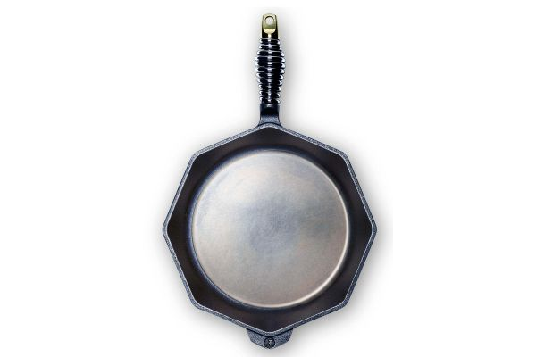 "Large image of Finex 12"" Cast Iron Skillet - S12-10001"