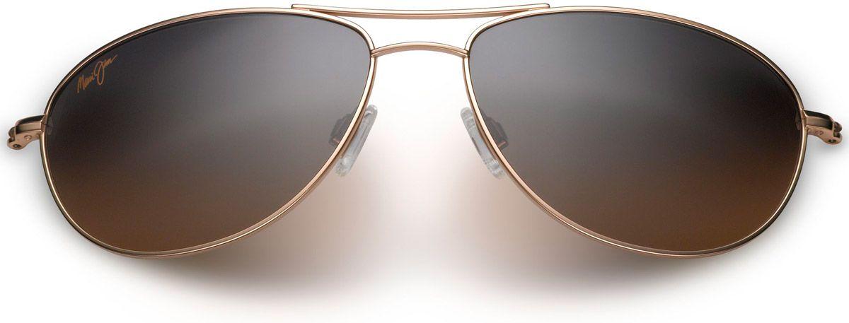 d34c5d48973 Maui Jim Baby Beach Aviator Gold Womens Sunglasses - HS245-16