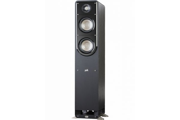 Large image of Polk Audio Signature S50 American HiFi Home Theater Black Tower Speaker (Each) - S50BLK