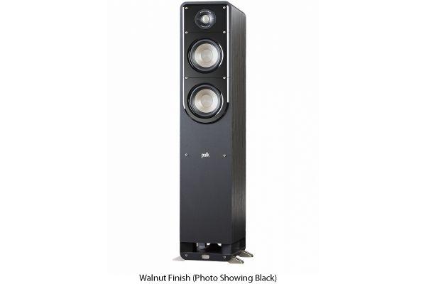 Large image of Polk Audio Signature S50 American HiFi Home Theater Walnut Tower Speaker (Each) - S50BRN