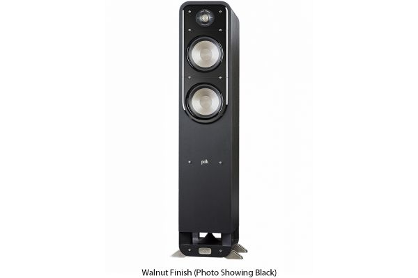 Large image of Polk Audio Signature S55 American HiFi Home Theater Walnut Tower Speaker (Each) - S55BRN