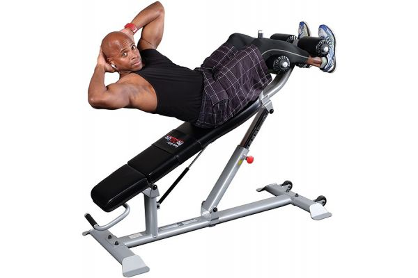 Large image of Body-Solid Pro Clubline Adjustable Ab Bench - SAB500