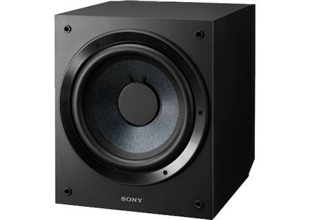 Sony Home Theater Black Subwoofer - SA-CS9
