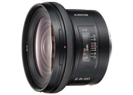 Sony 20mm f/2.8 Wide-Angle Prime Camera Lens - SAL20F28