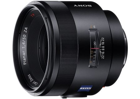 Sony Carl Zeiss Planar T 50mm F1.4 ZA SSM Camera Lens - SAL50F14Z