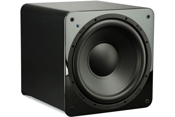 "Large image of SVS 12"" Gloss Black Ultra Compact Sealed Subwoofer - SB1000GBK"