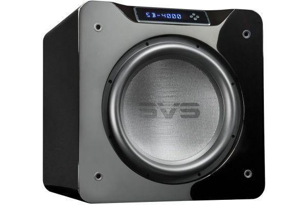 "Large image of SVS 13.5"" 4000 Series Piano Gloss Black Subwoofer - SB4000PIANOGLOSSBLK"