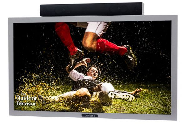 "SunBriteTV Silver 42"" Pro-Series Direct-Sun Outdoor TV - SB-4217HD-SL"