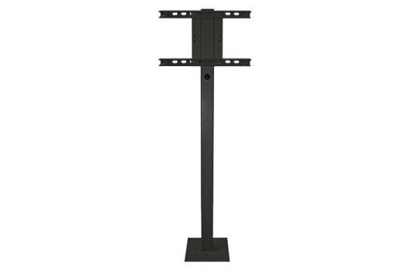 SunBriteTV Black Outdoor TV Deck Planter Pole - SBDP46XABL