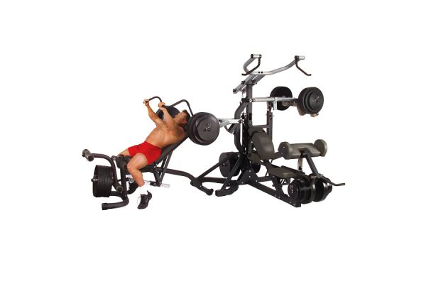 Large image of Body-Solid Free Weight Leverage Gym  - SBL460P4