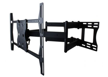 SunBriteTV Black Dual Arm Articulating TV Wall Mount - SB-WM-ART2-L-BL