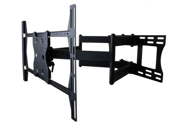 SunBriteTV Black Dual Arm Articulating TV Wall Mount - SB-WM-ART2-L-BL