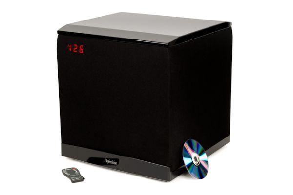 Large image of Definitive Technology Black SuperCube 8000 Subwoofer - LAVA
