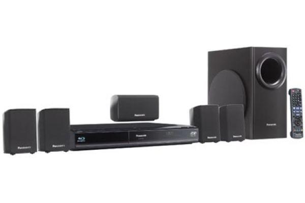 Panasonic Full HD 3D Blu-Ray Disc Home Theater System - SC-BTT350