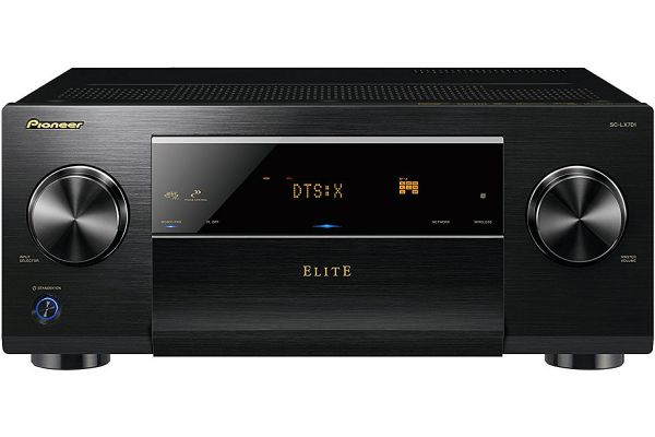 Pioneer Elite Black 9.2 Channel Class D3 Network AV Receiver - SC-LX701
