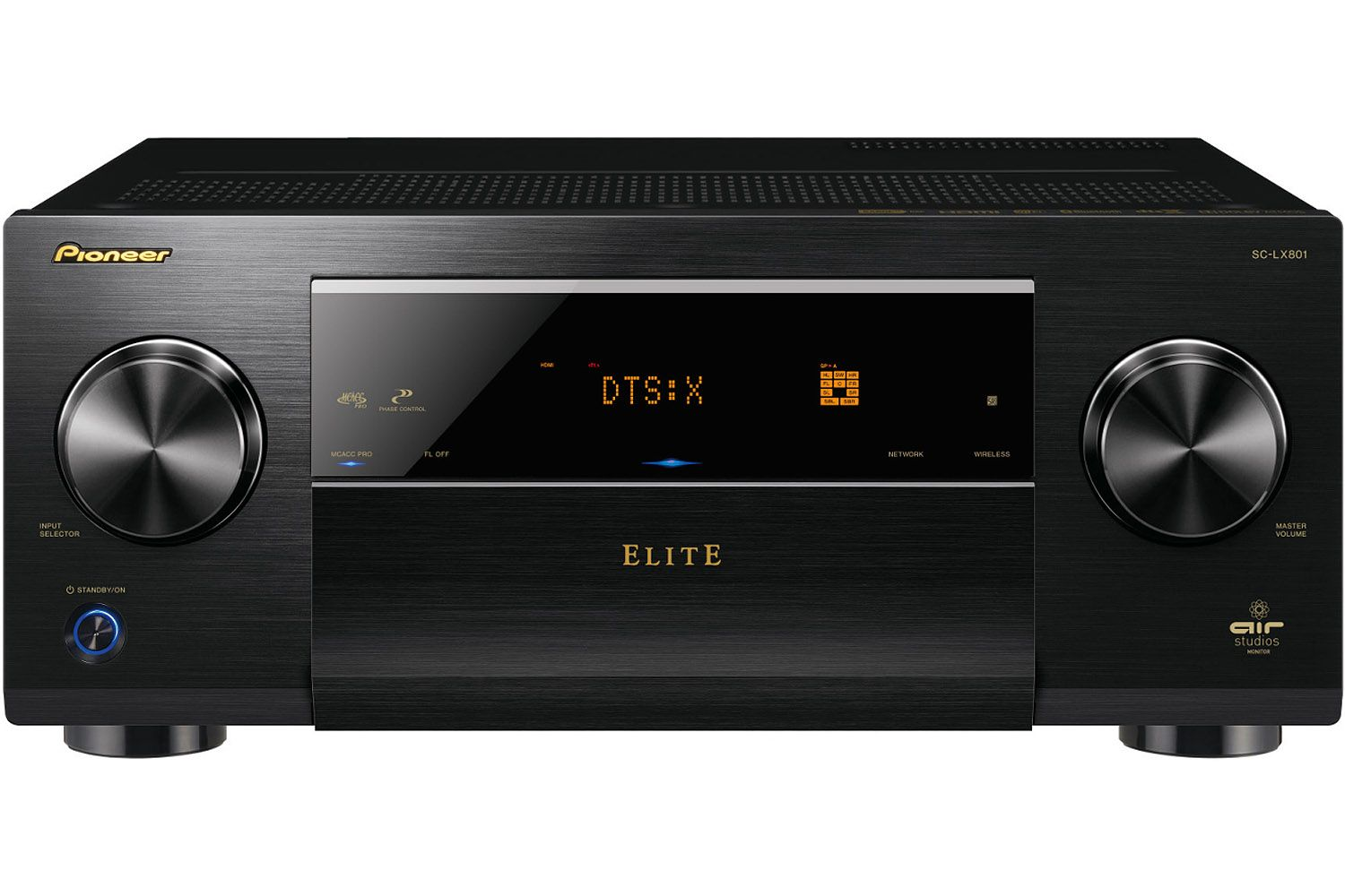 Pioneer Black 92 Channel Network Av Receiver Sc Lx801 How To Build Symmetrical Class A Preamplifier Elite D3