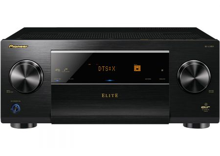 Pioneer Elite Black 9.2 Channel Class D3 Network AV Receiver - SC-LX801