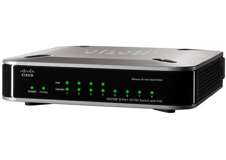Linksys - SD208P - Network Switches