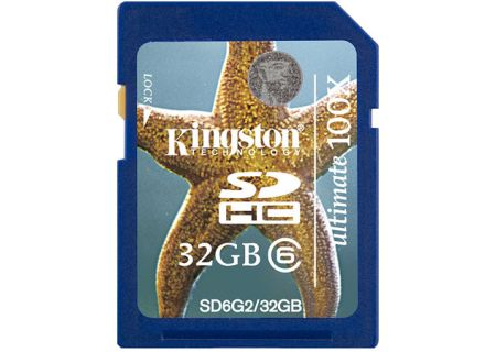 Kingston - SD6G2/32GB - Memory Cards