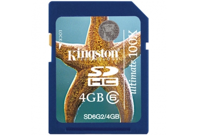 Kingston - SD6G2/4GB - Memory Cards