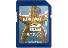 Kingston - SD6G2/8GB - Memory Cards